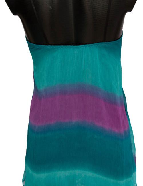 Minislip ♦ Back ♦ Silk Chiffon & Soft Lace