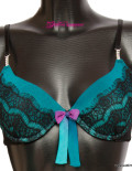 Sublime Séduction Push Up Bra - Mer Turquoise