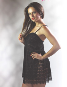 black nightie seductrice