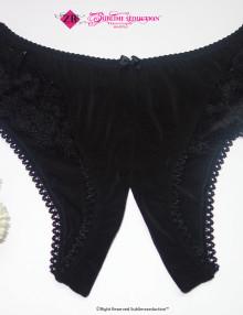 Crotchless Panty Sublime seduction